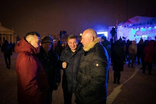Андрей Бочаров поблагодарил всех активных