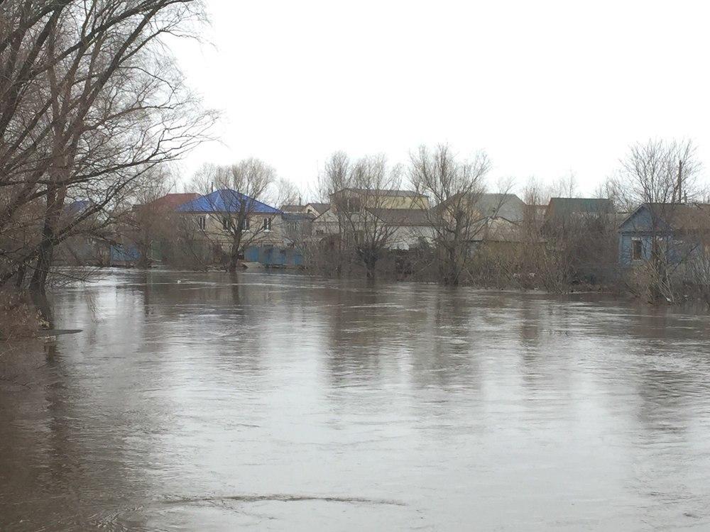 В зоне наводнения остаются 9 населенных пунктов Волгоградской области