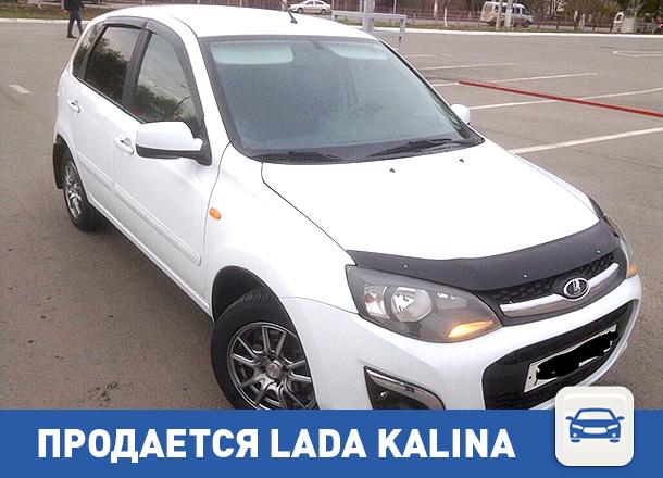 Lada Kalina ищет нового хозяина в Волгограде