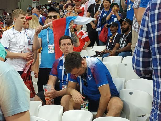 «Волгоград Арена»: Нигерия – Исландия 2:0