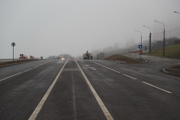 Рокадную дорогу открывают сегодня для волгоградских автомобилистов