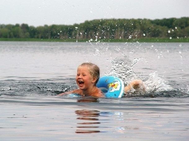 Вода в Волге на территории Волгограда к 1 июля прогрелась до +20˚С