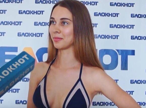 Двадцать третья участница кастинга «Мисс Блокнот Волгоград-2018» Виктория Студеникина