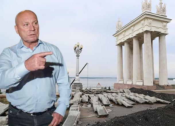 Глава Волгограда распределил обязанности между вице-мэрами