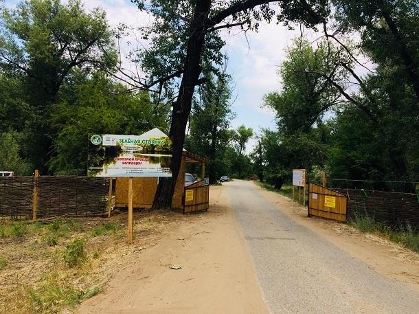 В парке «Волго-Ахтубинская пойма» появилась новая зона отдыха