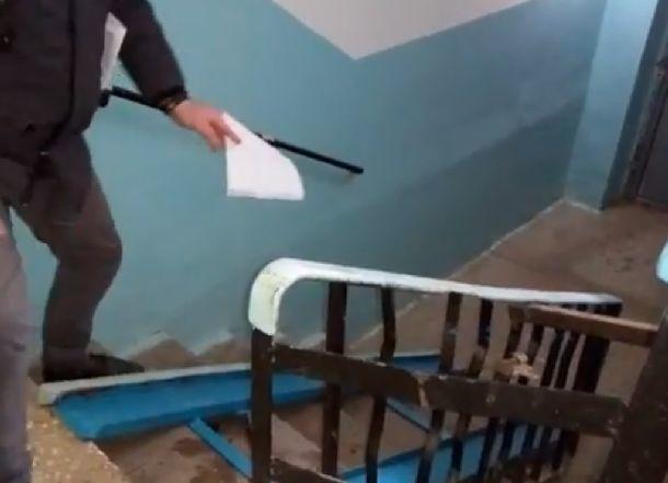 80-летней волгоградке-инвалиду вместо пандуса установили «тренажер» для бицепсов