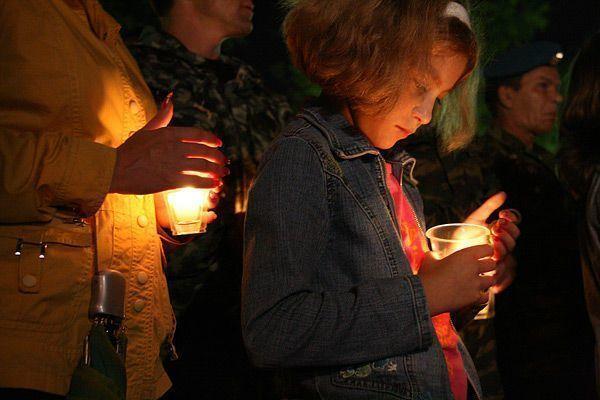В Волгограде почтили память жертв Донбасса
