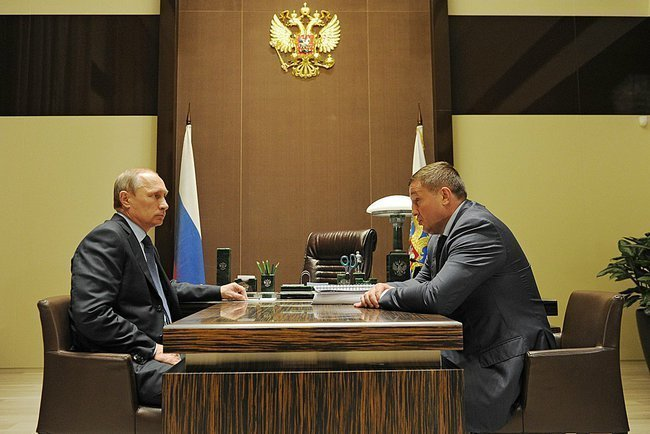 Путин обсудил с главой Волгограда сельское хозяйство региона
