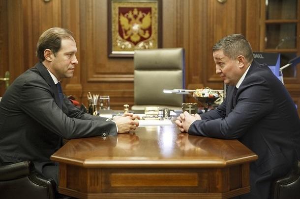 Андрей Бочаров отправился в Москву докладывать о «Красном Октябре»