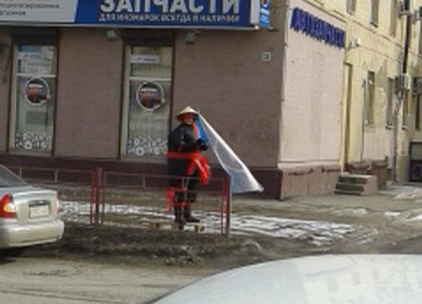 Волгоград получил нового супергероя