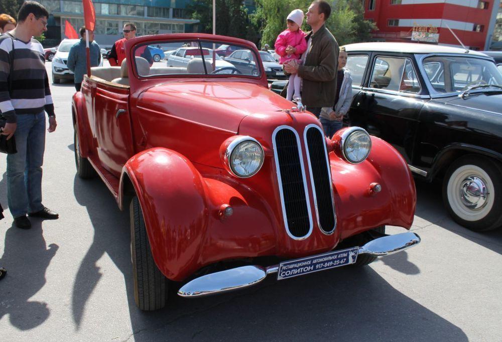 В Волгограде на День города пройдет выставка ретро-автомобилей