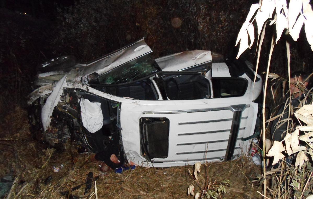 Под Волгоградом в ДТП скончался 49-летний водитель Volkswagen Touareg