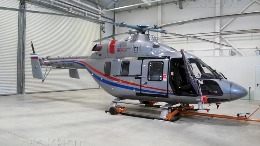 Новые вертолеты санавиации «Ансат» доставили в Волгоградскую область