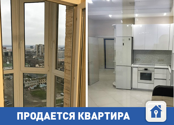 Продается квартира с шикарным панорамным видом на Волгу