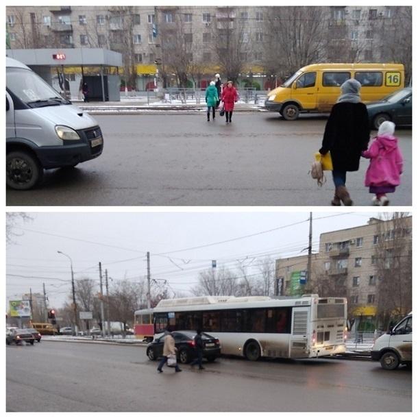Перепись бессмертных пешеходов произвели в Красноармейском районе Волгограда